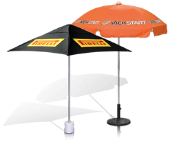 promotional umbrellas for patio, market, cafe