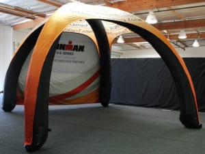 air dome inflatable tent - ironman 02