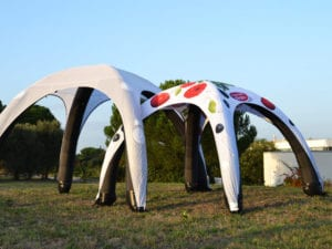 inflatable tent - air dome - 10x10 - 10x13