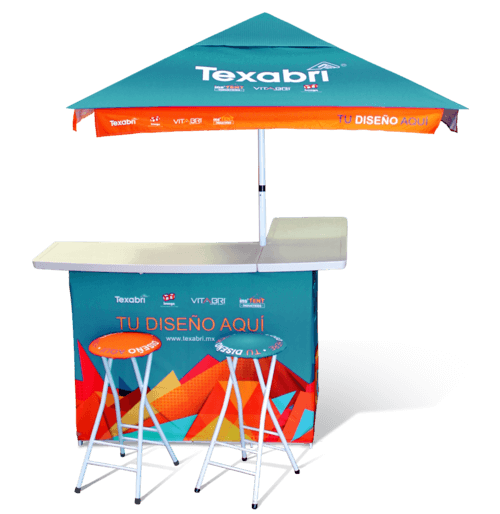 Portable bar display