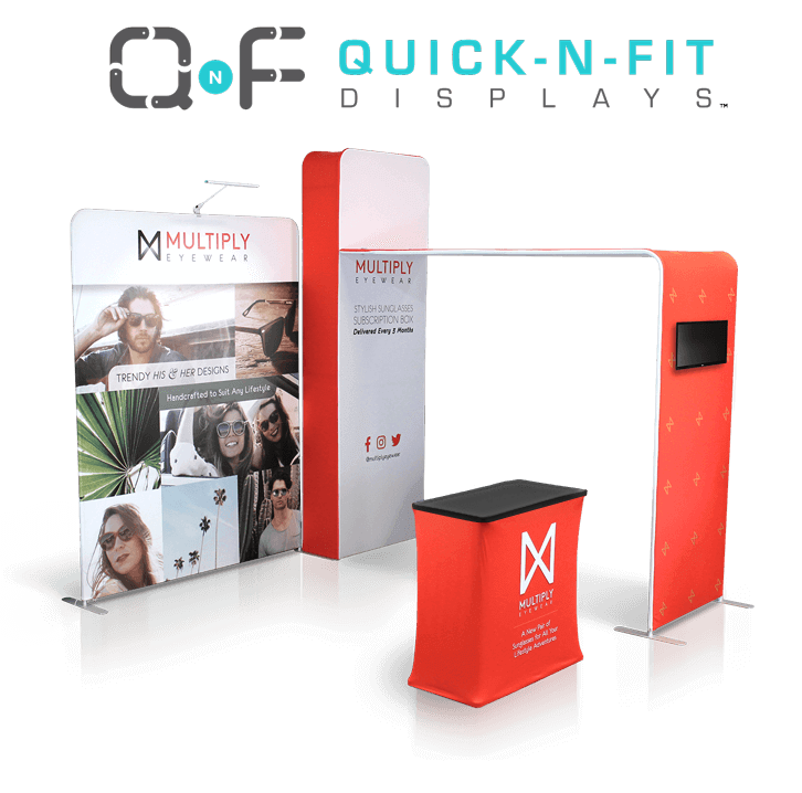 10x10 quick n fit tradeshow booth