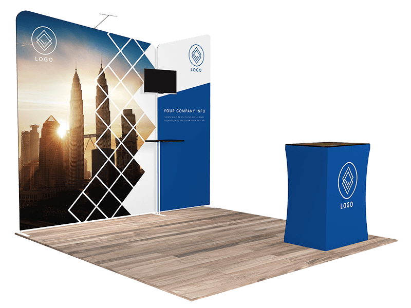 10x10 tradeshow booth 1104