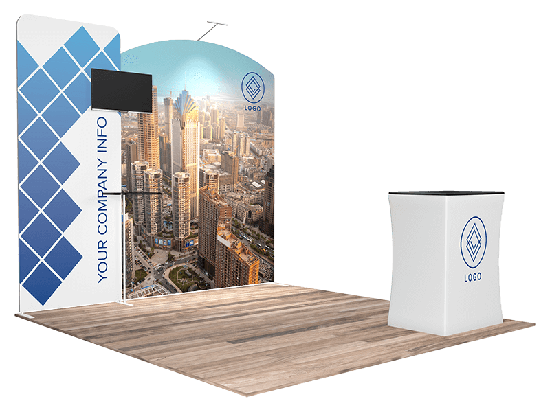 10x10 tradeshow booth 1108