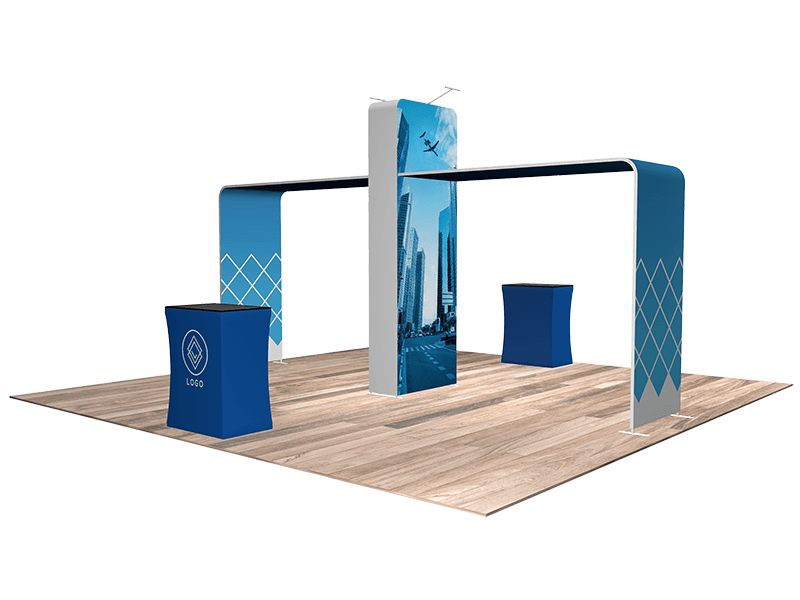 2201 tradeshow booth