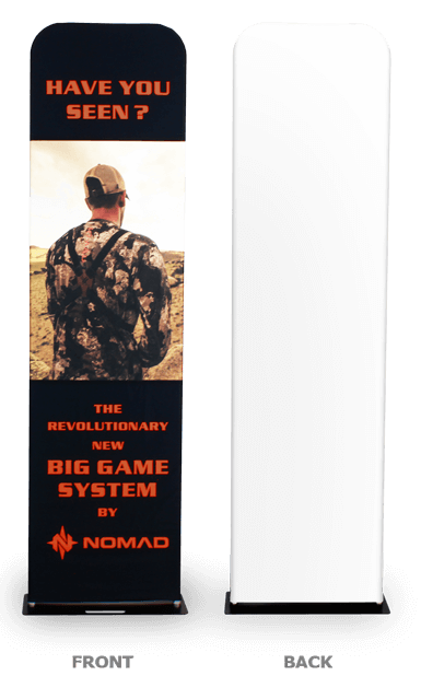 single sided printing banner