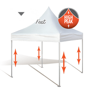 Carnival High Peak Pop Up Tents