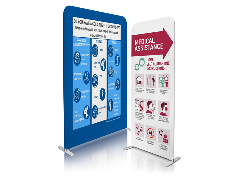 Medical Testing & Screening Banners