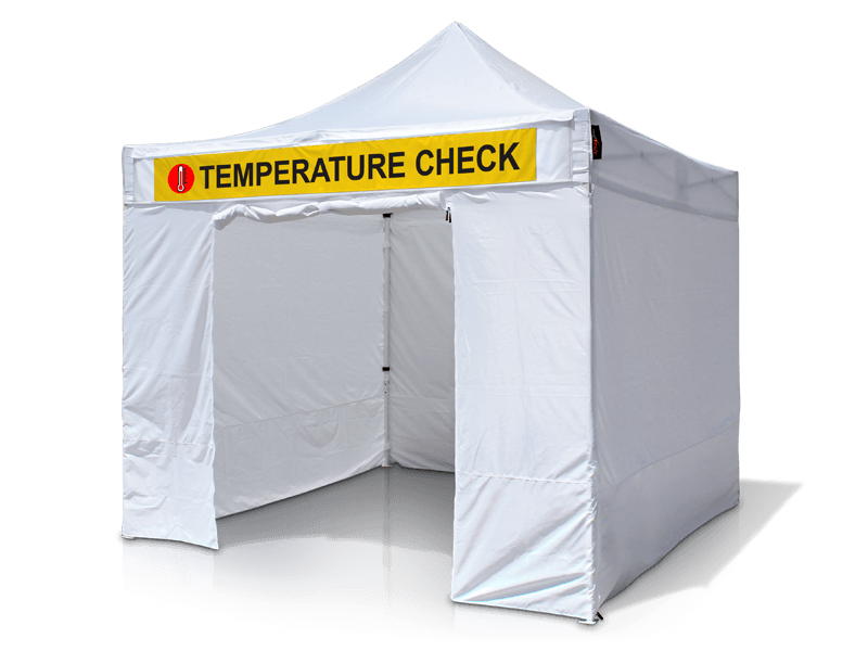 Employee Testing & Screening Tent