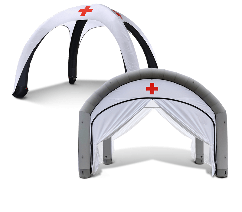Inflatable Medical Tents and Air Domes