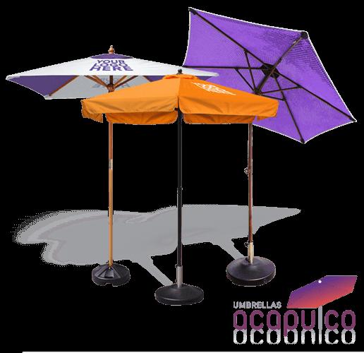 acapluco market umbrellas